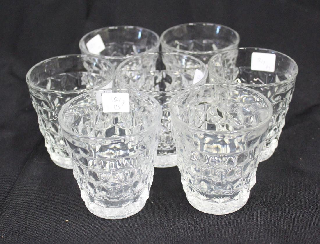 Fostoria  American Juice Glasses (7)