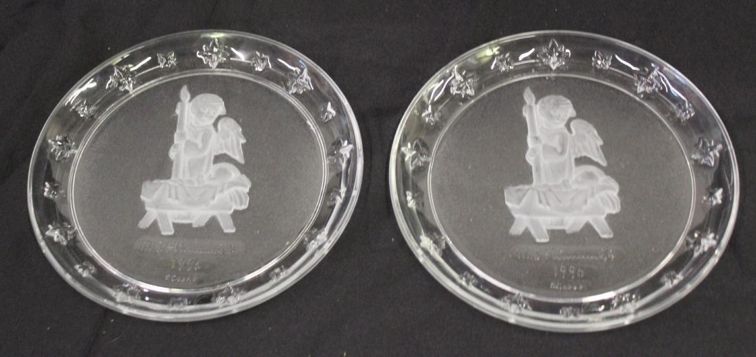 Hummel Crystal Plates (2)