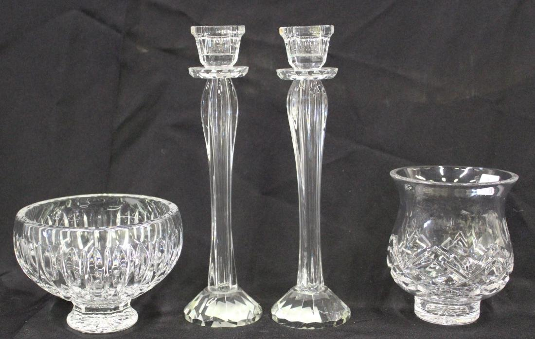 Lot of Collectible Glass (4)
