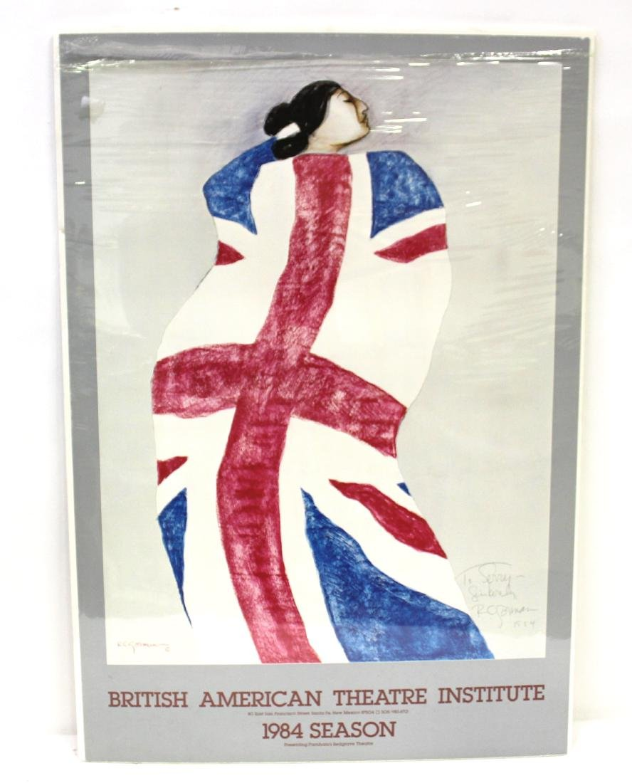 Gorman British Am Theatre Poster Sgd.