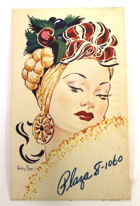 Frank Sinatra Autograph Copacabana Card - 2
