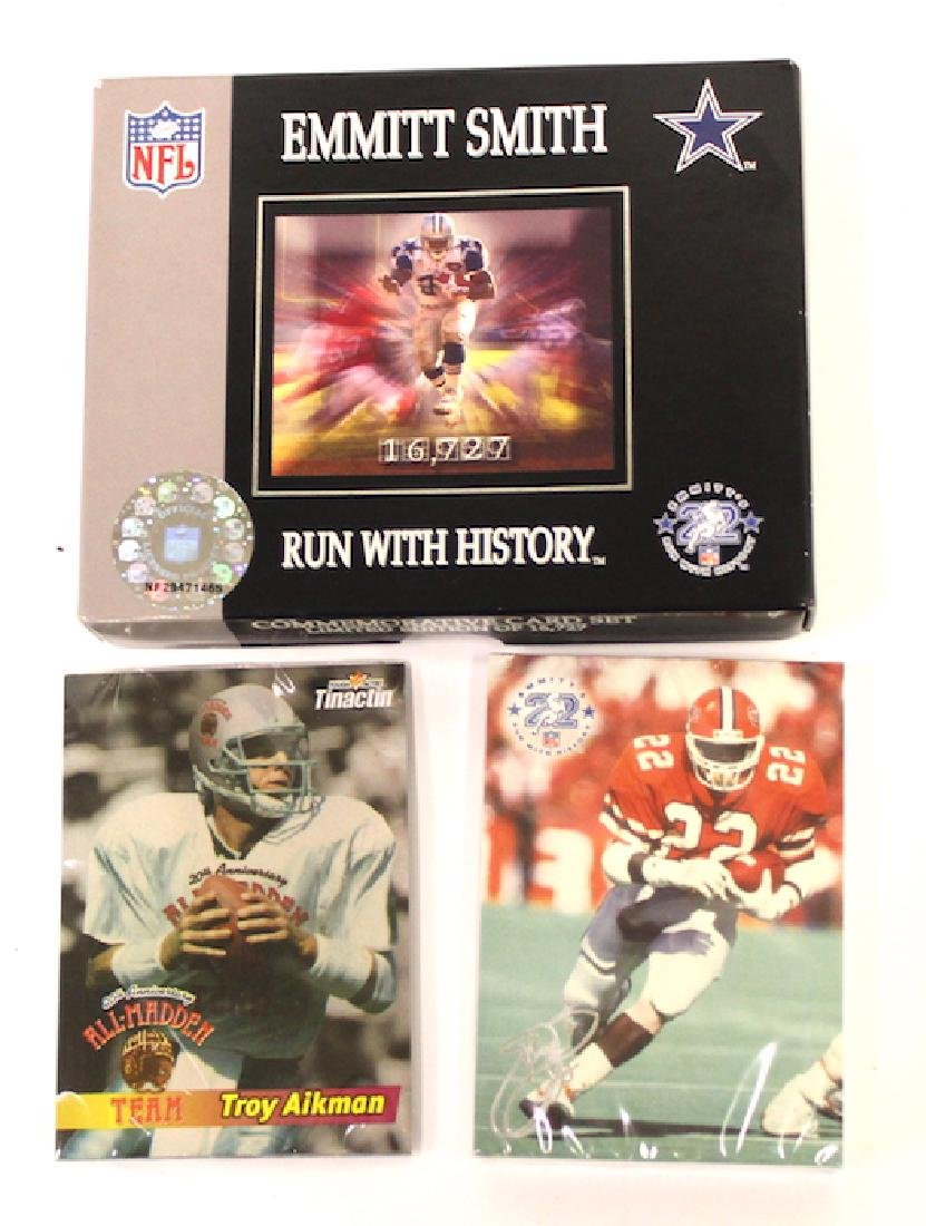 Emmitt Smith Run with History Card Set