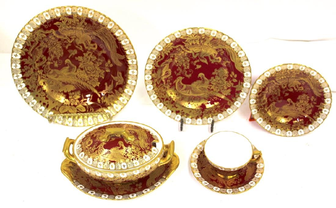 """Royal Crown Derby """"Paradise"""" Service for 12"""