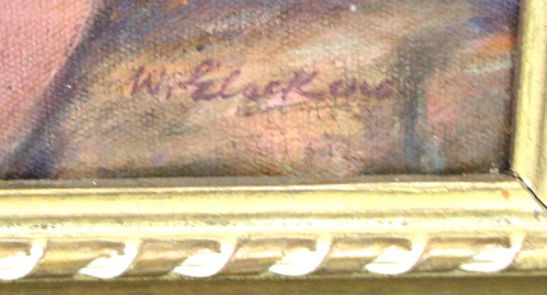 William Glackens. Portrait. Signed - 2