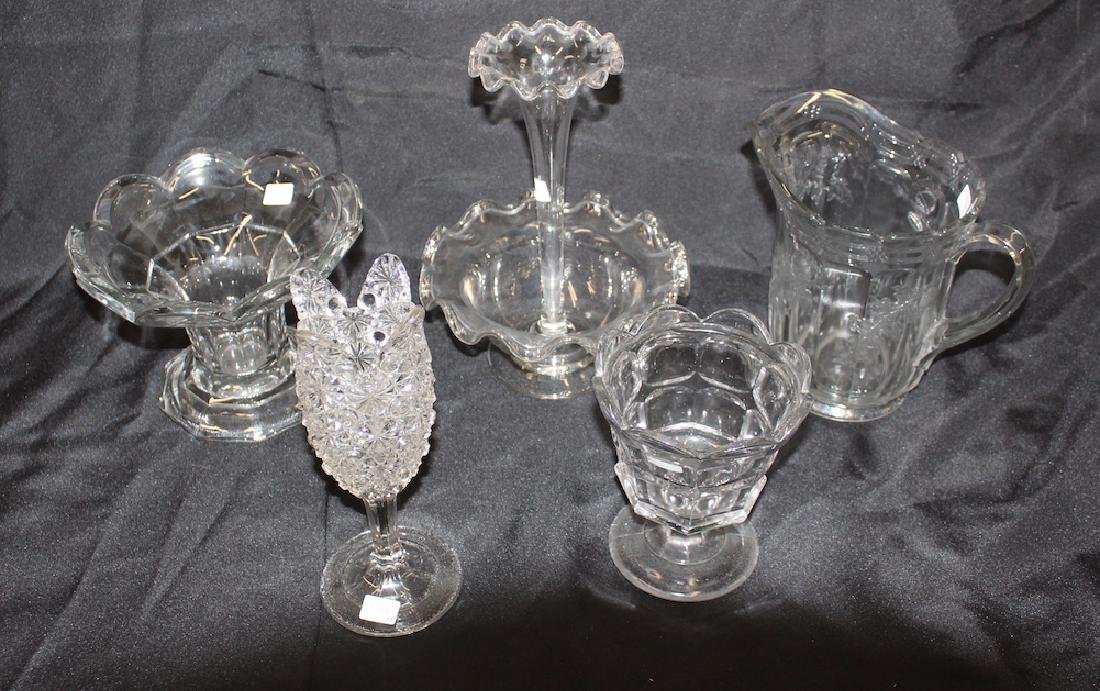 Estate Lot of  Collectors' American Glass (5)