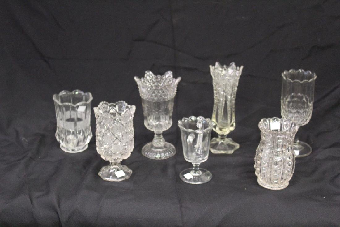 American Pattern Glass Celery Collection (7)