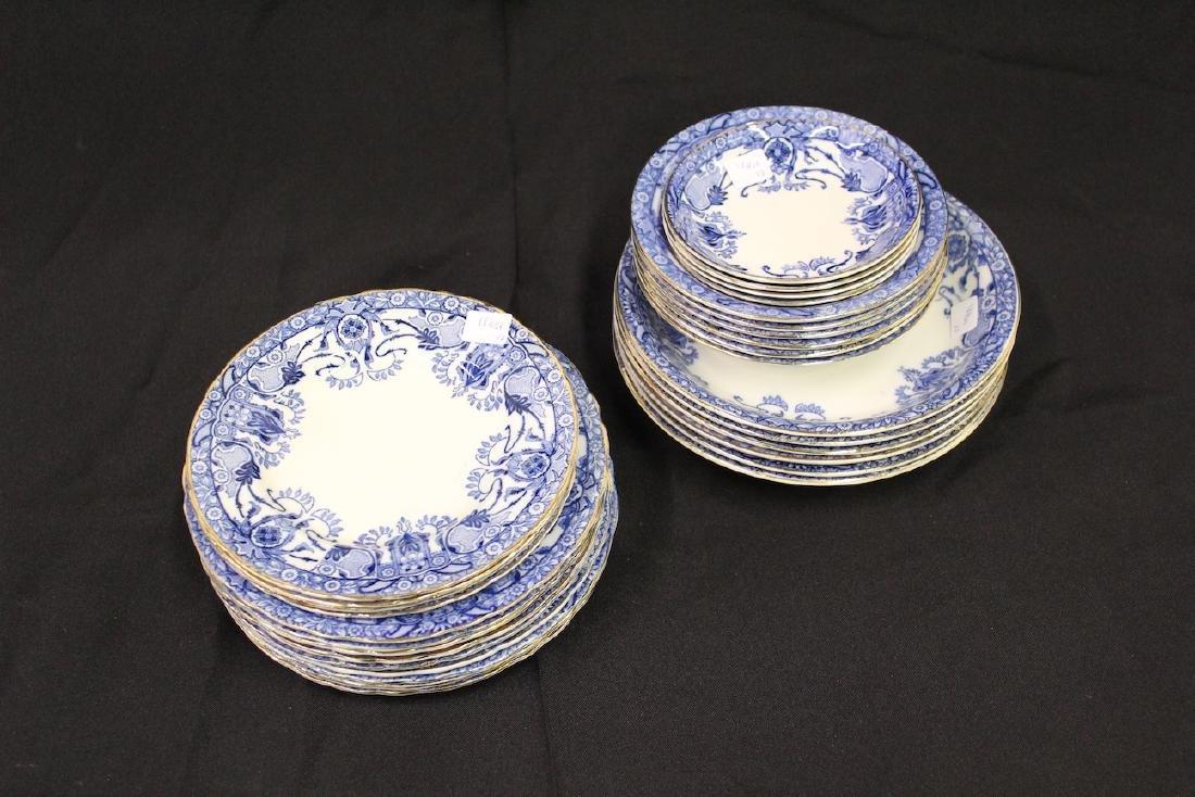 Middleport England Blue & White China (29)