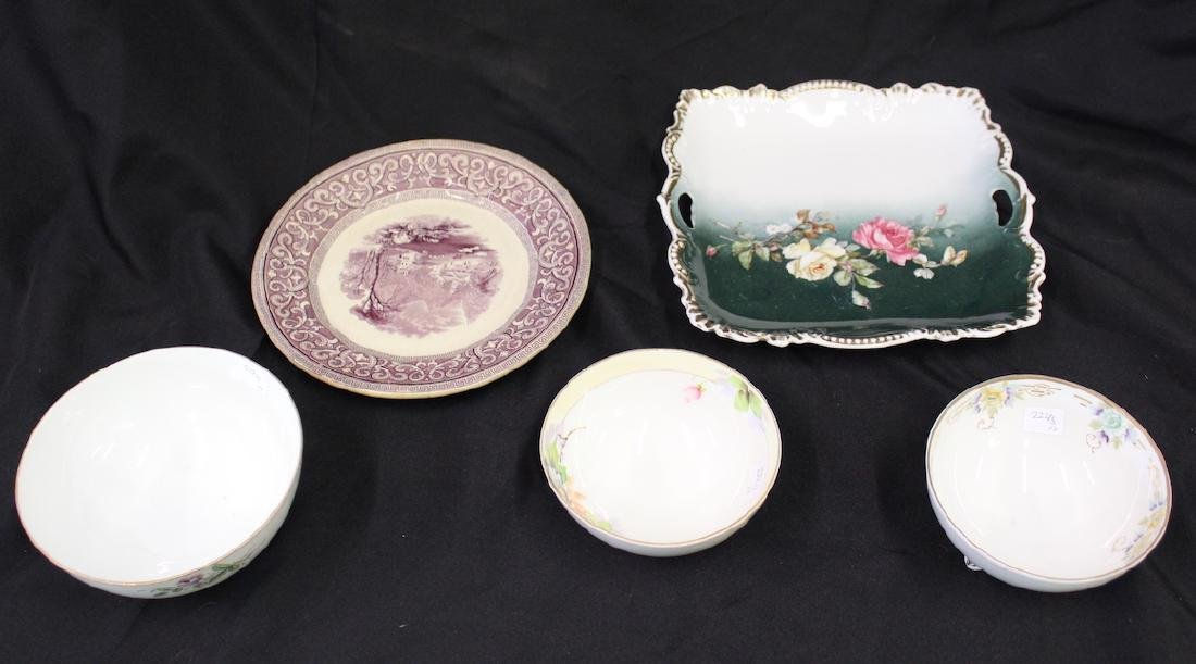 Collectors Lot of China. Five items