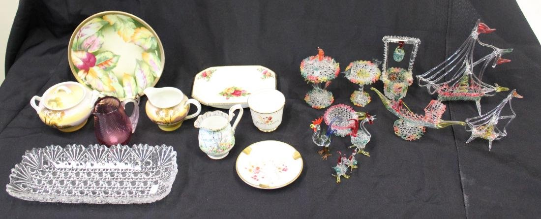 Estate Lot of  Collectors Glass & China (23)