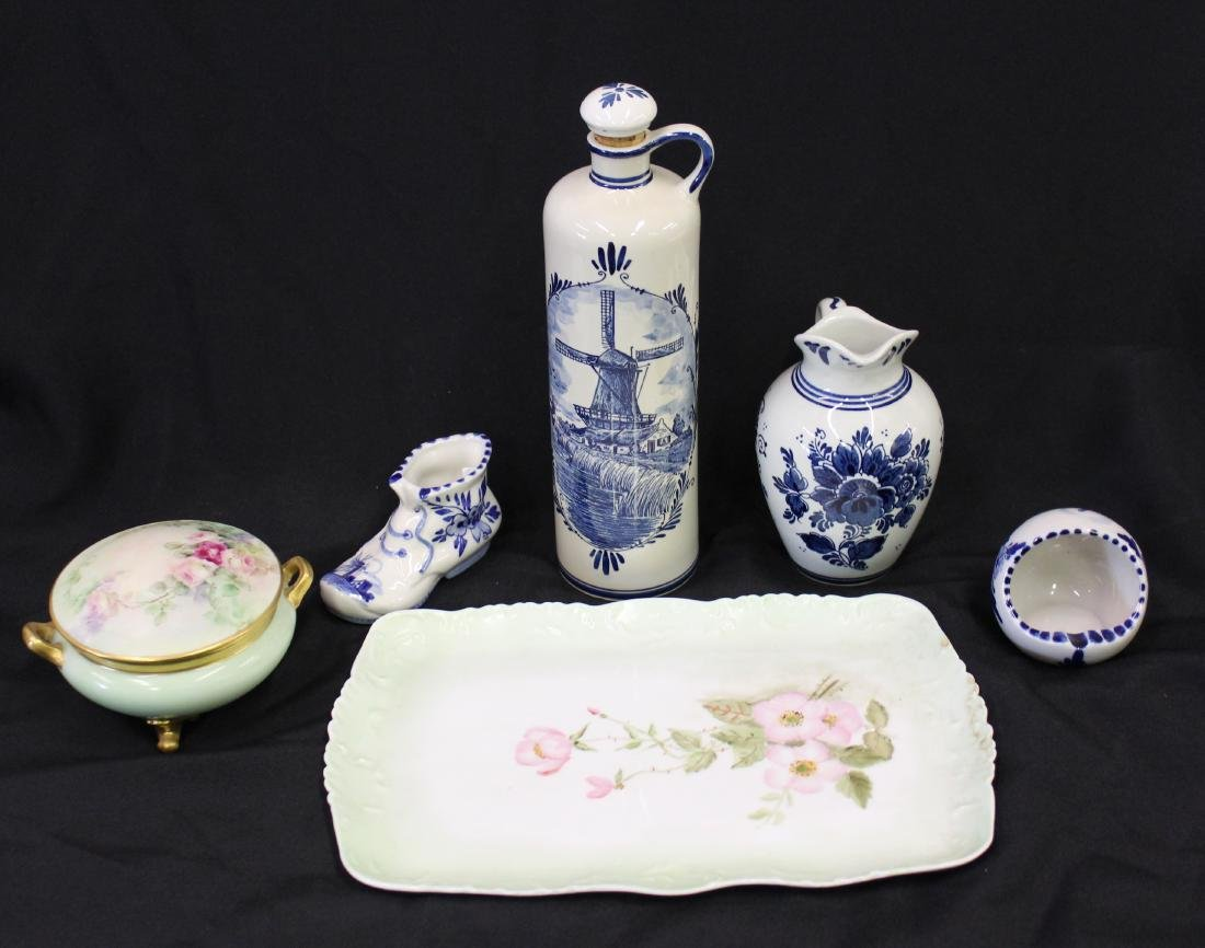 Collectors Lot of Delft & Limoges China (6) - 2