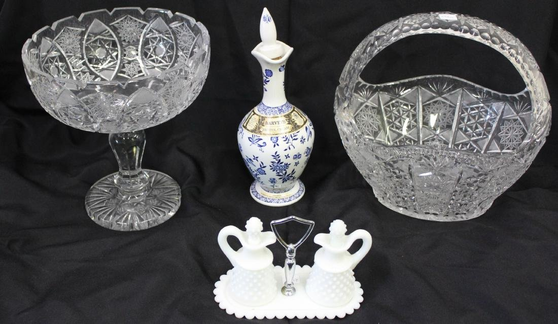 Estate Lot of American Glass & Decanter-3