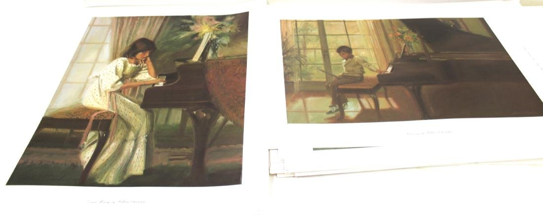 William Chambers. Art Prints. Sgd. in the Plate (2)