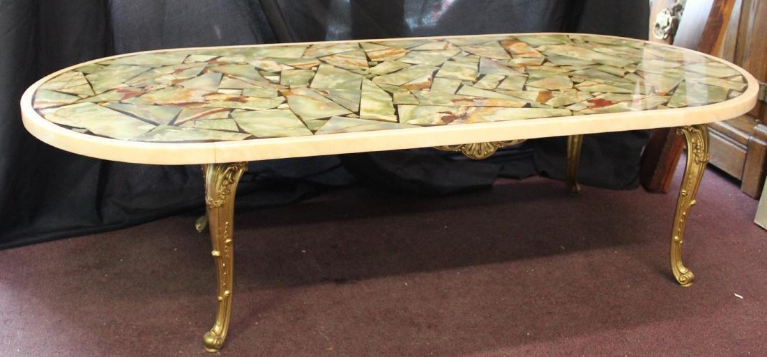 MId-Century Modern Italian Marble Table