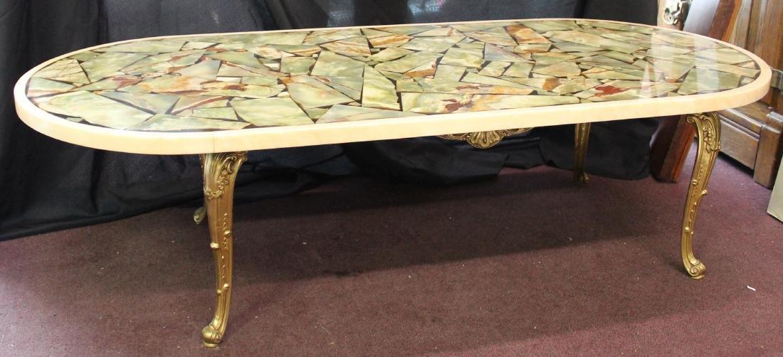 MId-Century Modern Italian Marble Table - 2