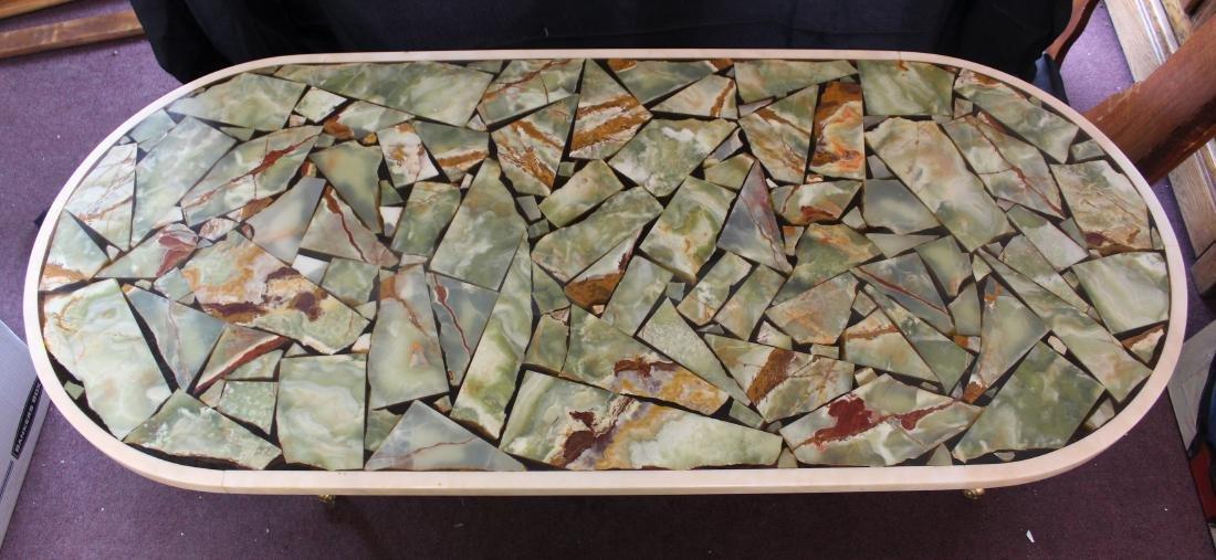 MId-Century Modern Italian Marble Table - 3