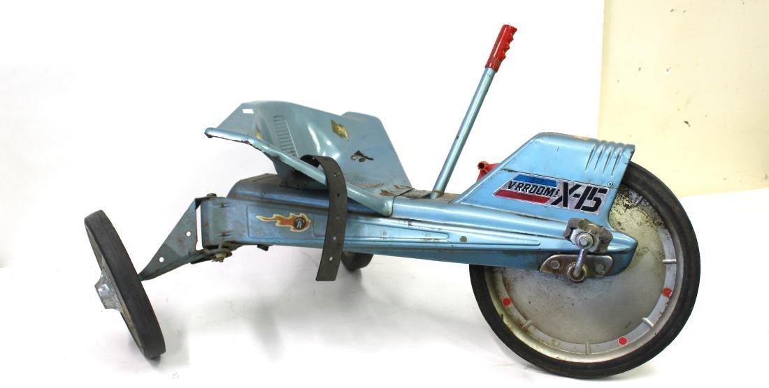 Mattel Pedal Operated V-RROOM X-15