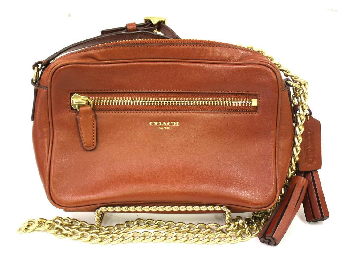 Coach New York Designer Leather Purse.