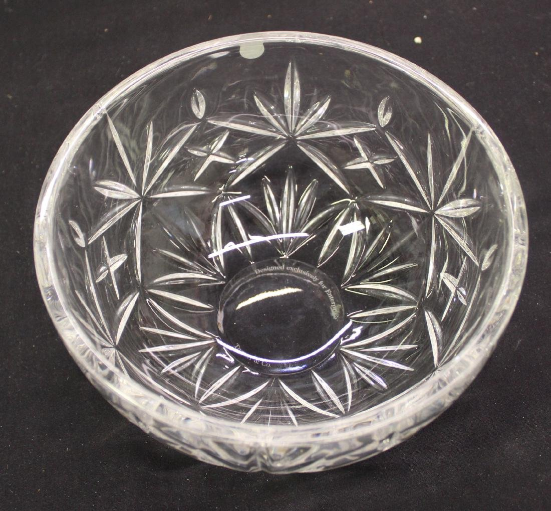 Tiffany & Co. Paperweight Glass Bowl