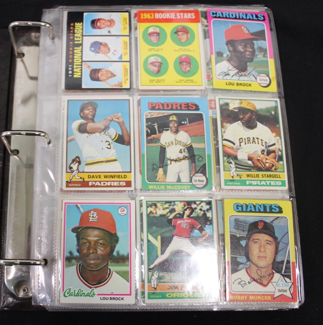 1971-1978 Topps Baseball Cards (100)