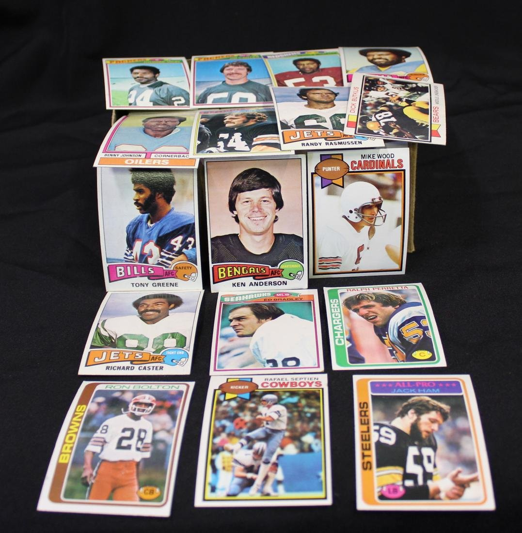 1973-1979 Topps NFL Cards (500)