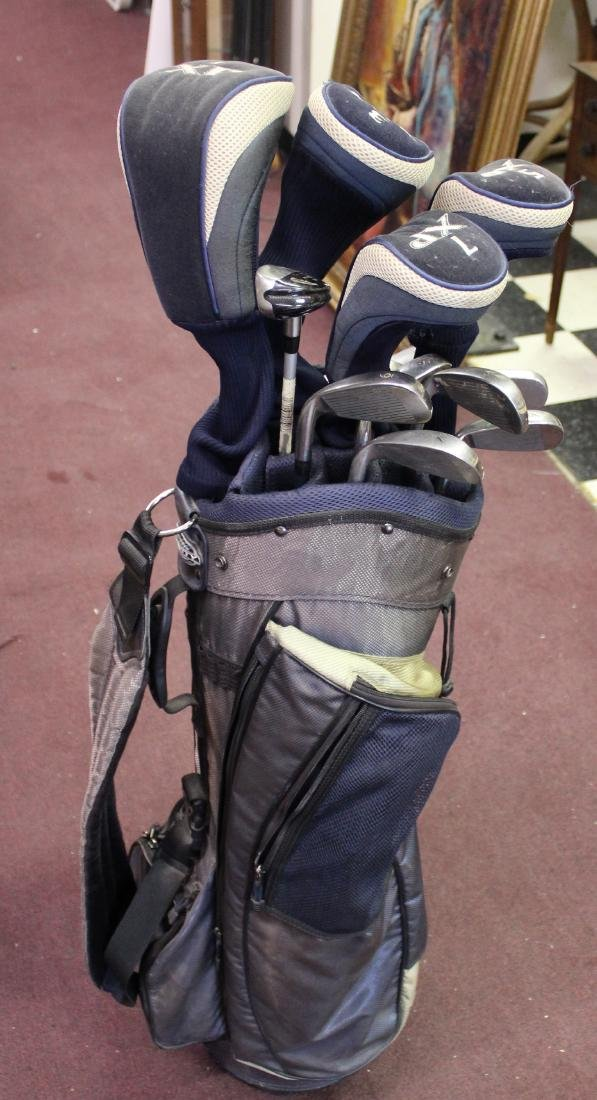 Complete Set Affinity Golf Clubs.