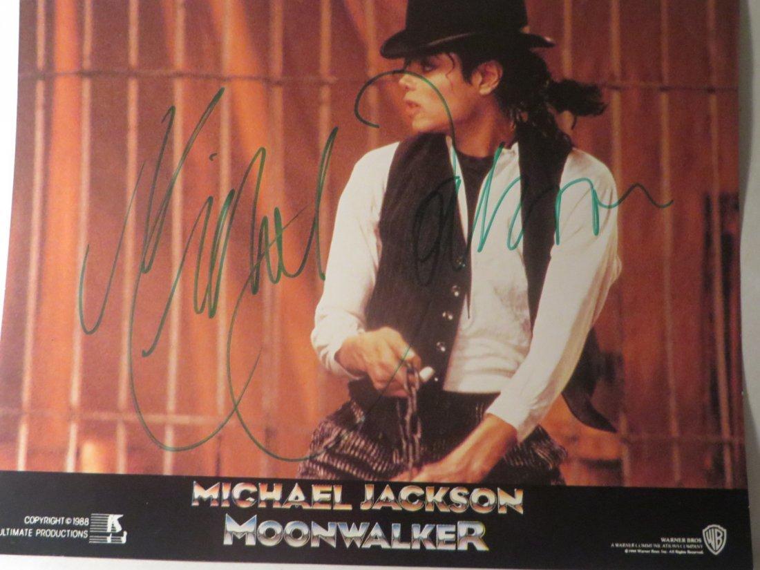 Michael Jackson Autographed Picture