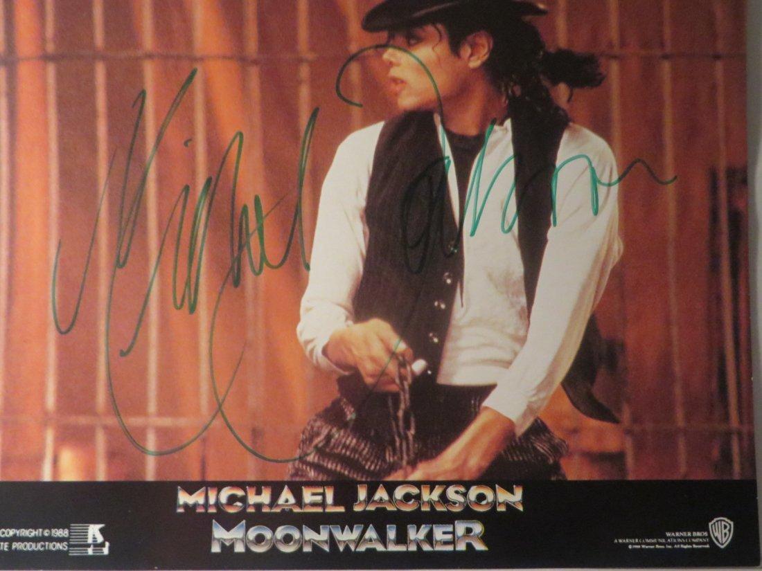 Michael Jackson Autographed Picture - 2
