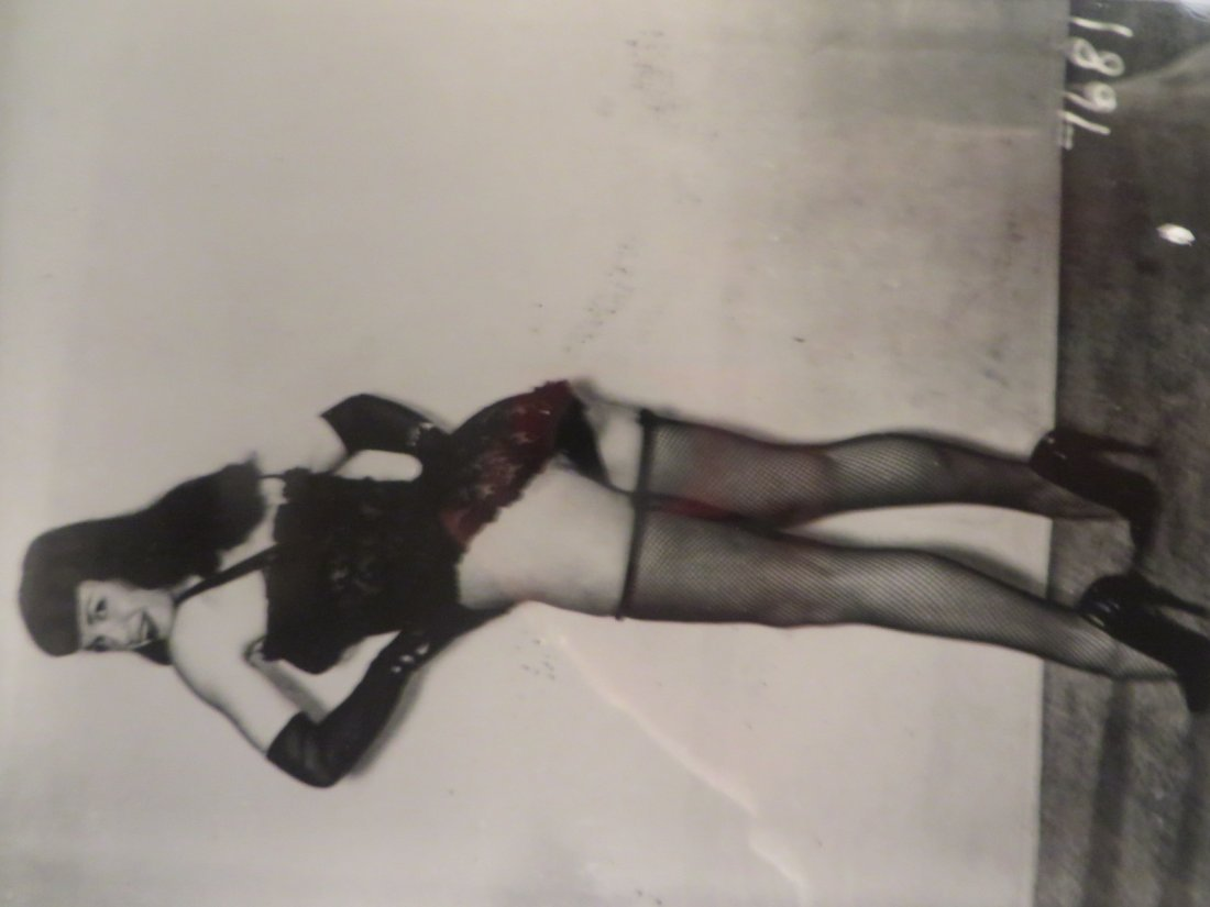 Betty Page Photograph