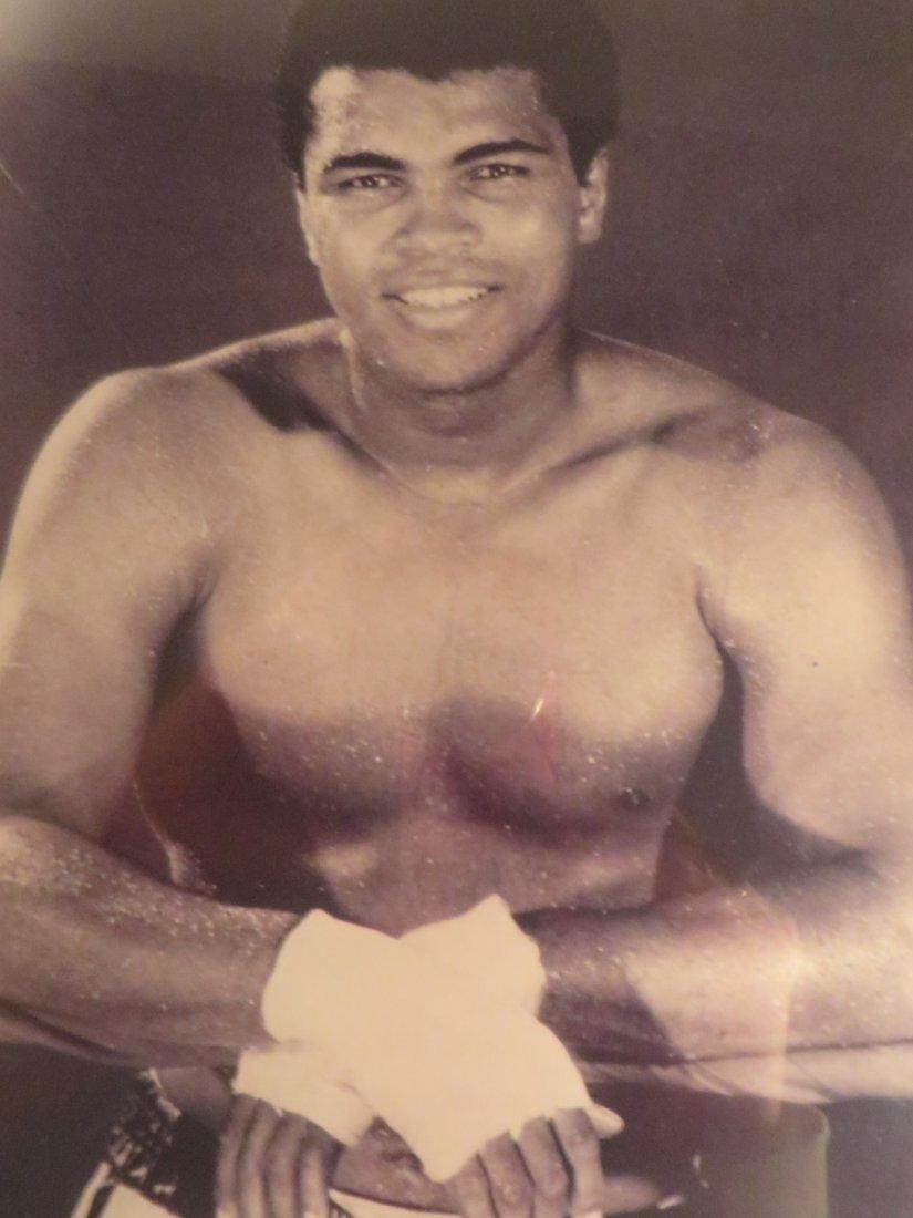 Muhammad Ali Ringside Photograph