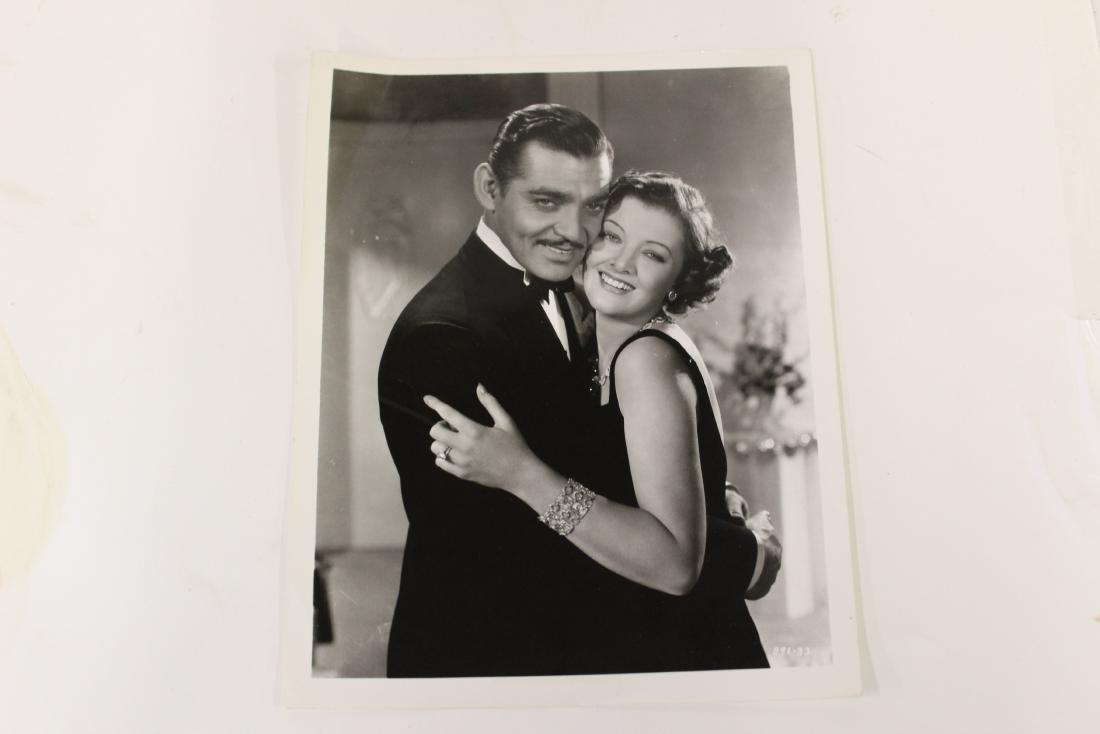 Clark Gable & Myrna Loy Movie Still
