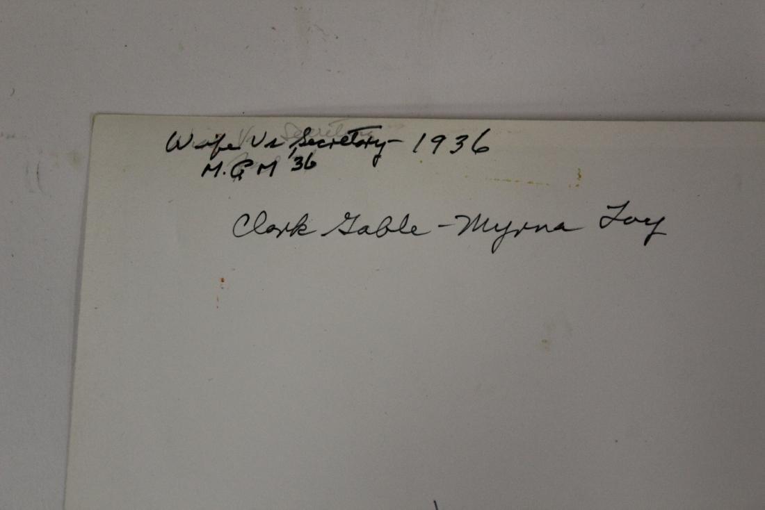 Clark Gable & Myrna Loy Movie Still - 3