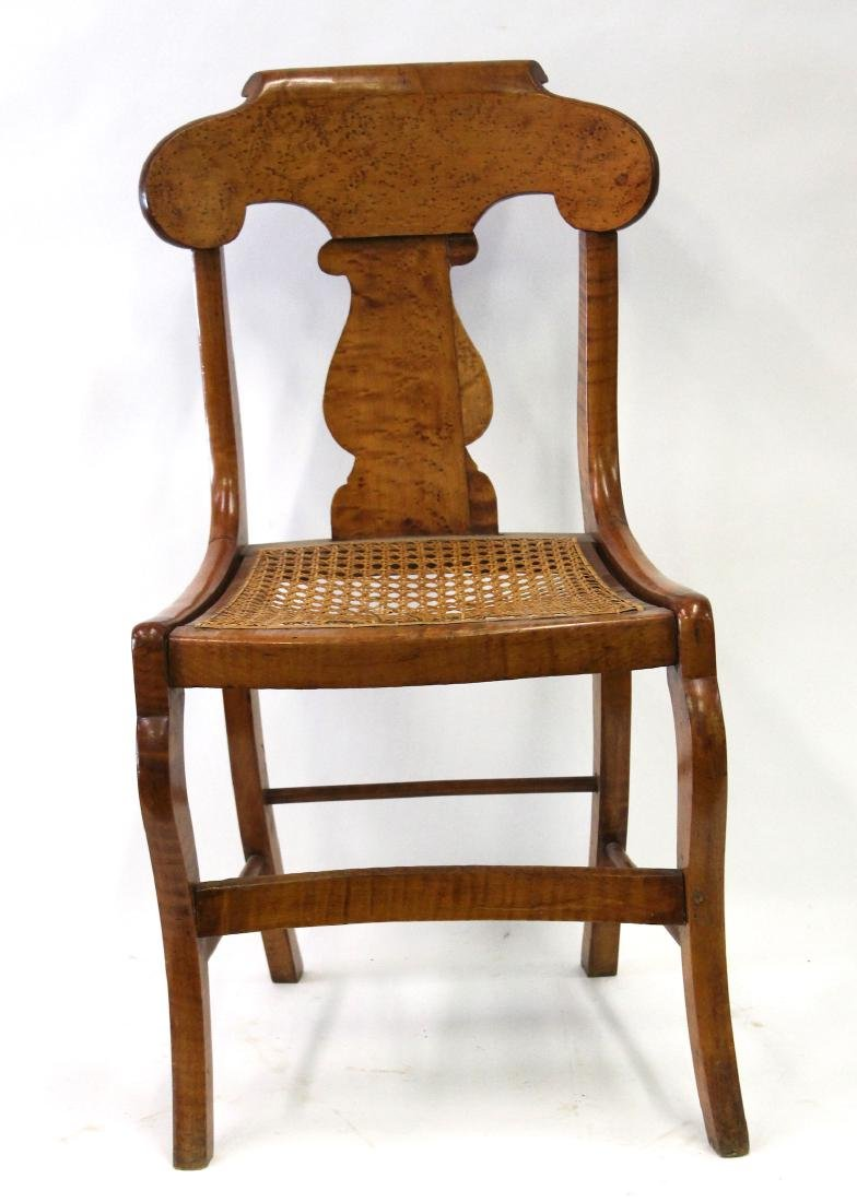 Smith Ely  NYC. Empire Chair Set. C.1830. Signed. - 2