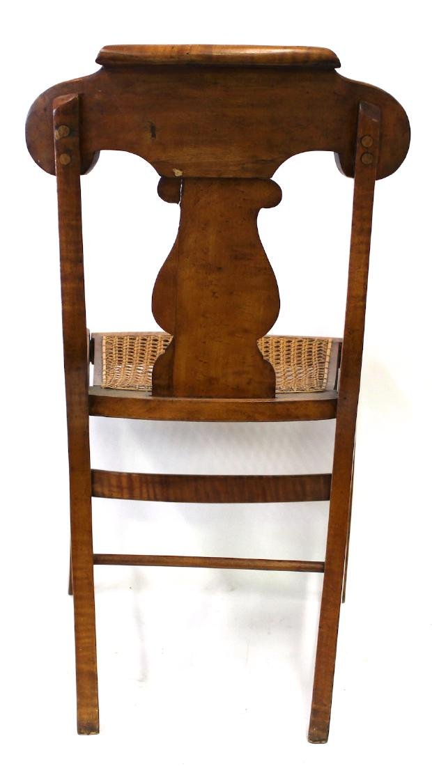 Smith Ely  NYC. Empire Chair Set. C.1830. Signed. - 3