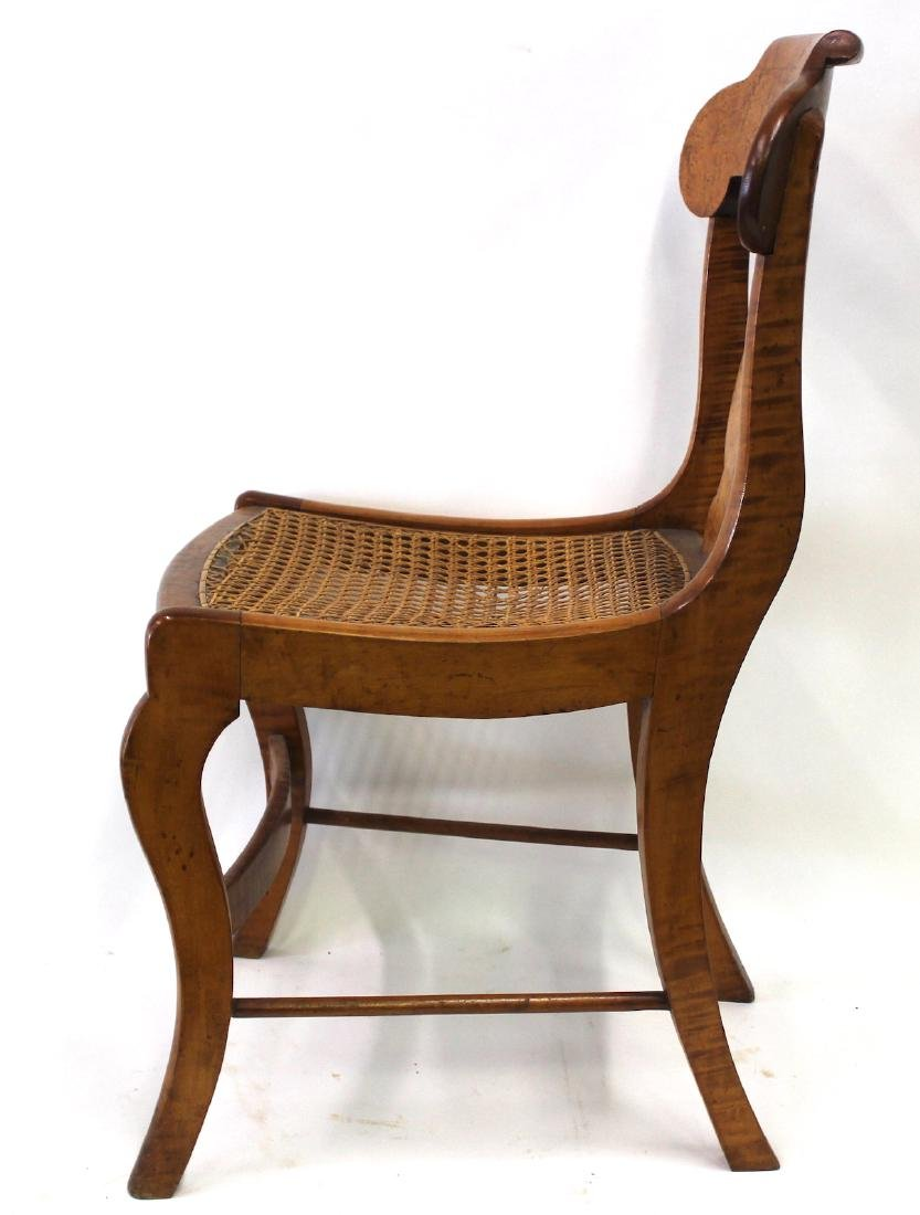 Smith Ely  NYC. Empire Chair Set. C.1830. Signed. - 4
