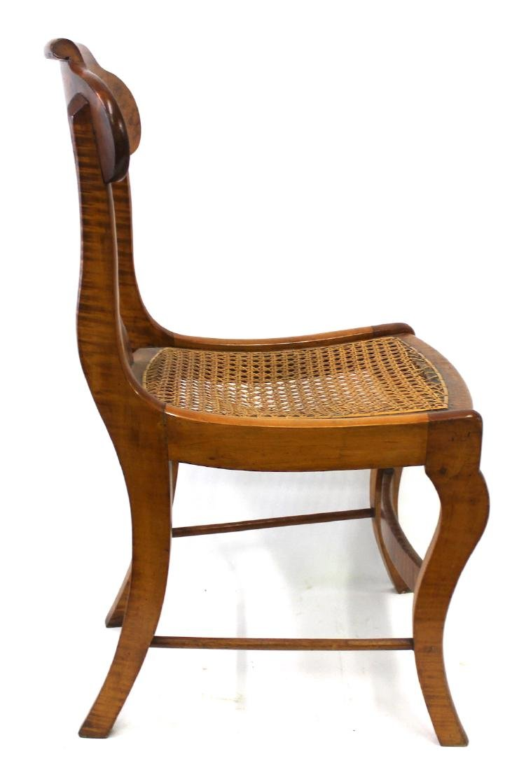 Smith Ely  NYC. Empire Chair Set. C.1830. Signed. - 5