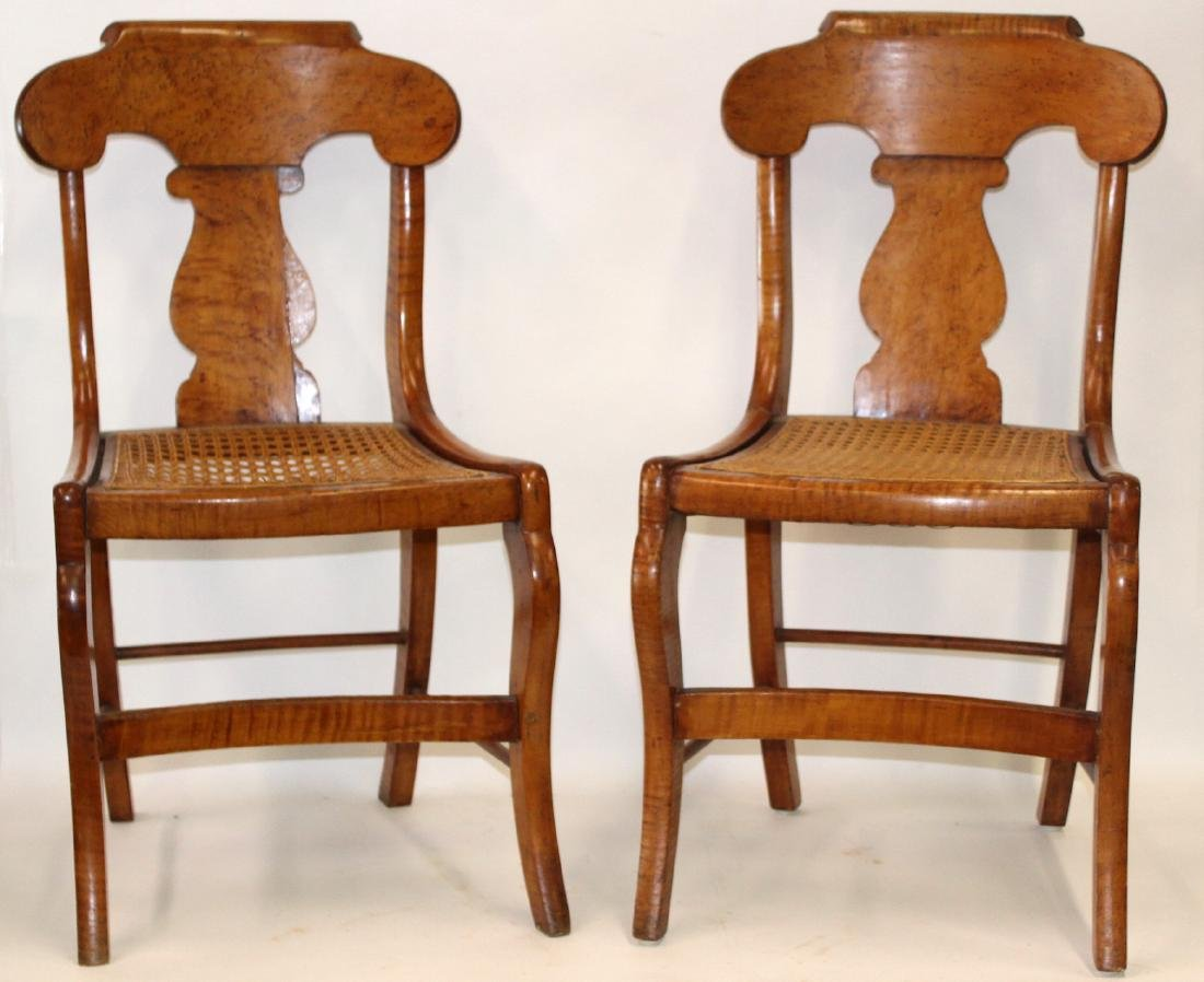 Smith Ely  NYC. Empire Chair Set. C.1830. Signed. - 7