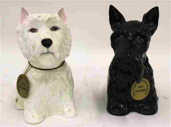 Royal Adderley Figural Decanters (2)