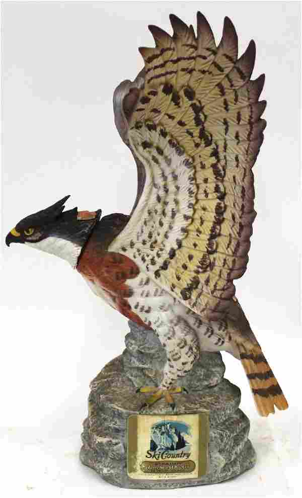Ltd Ed Hawk Eagle Decanter