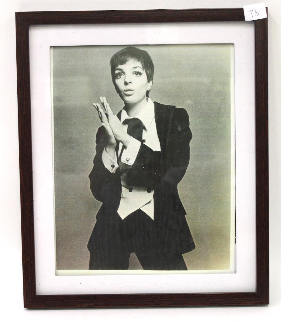 Liza Minelli Framed Photograph