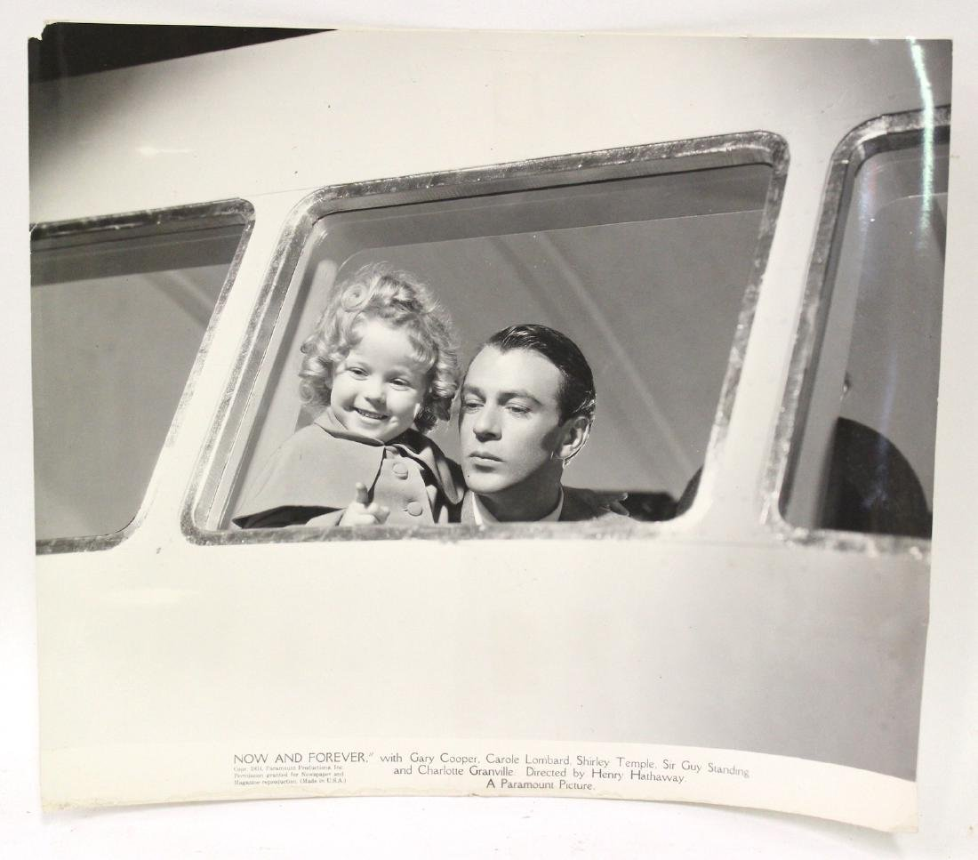Shirley Temple & Gary Cooper