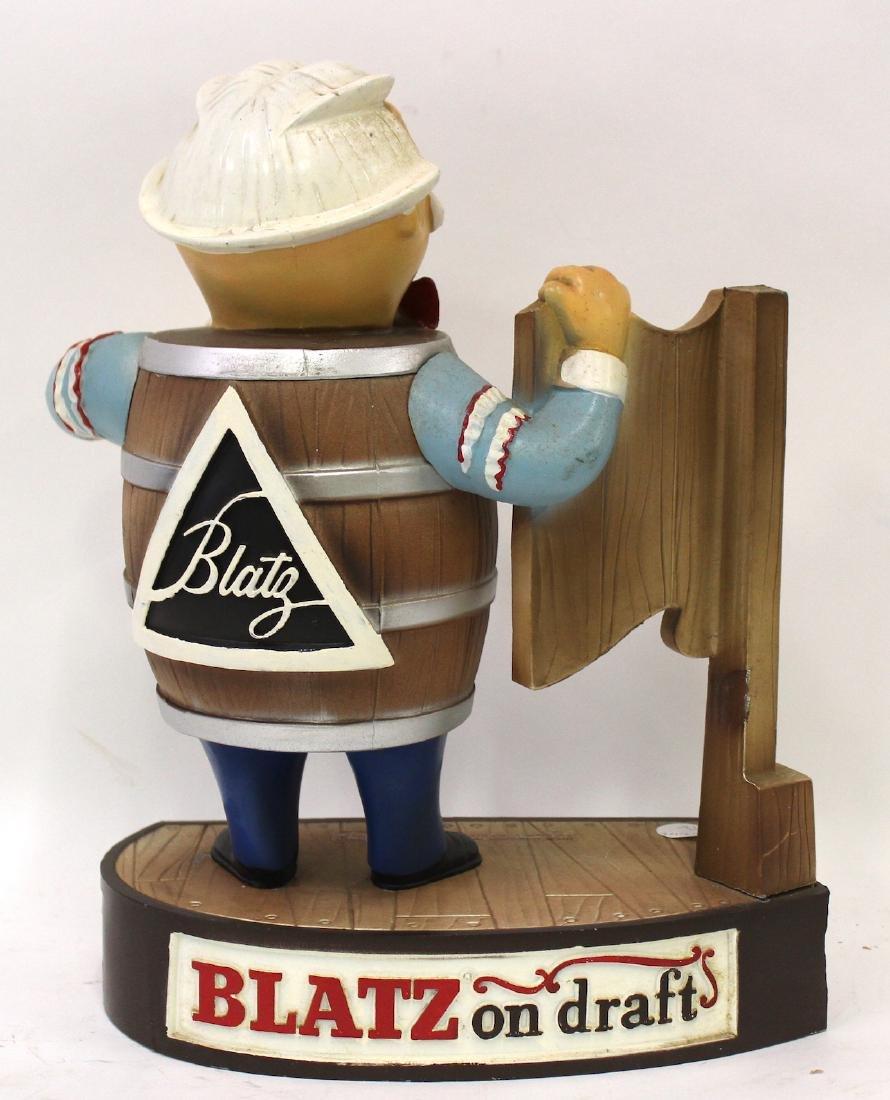 Blatz On Draft Beer Display Advertising Figure - 3