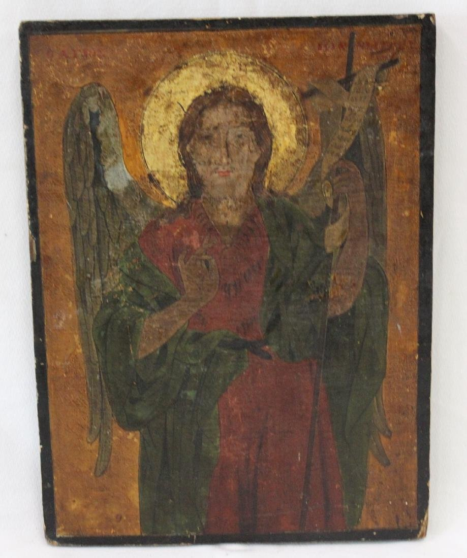 Early Italian Sienna Panel Painting