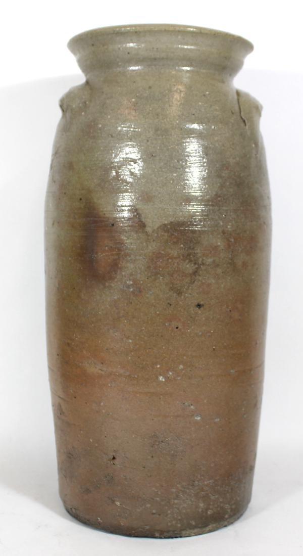 Stoneware Crock. 2 Gallon. Blue Decoration