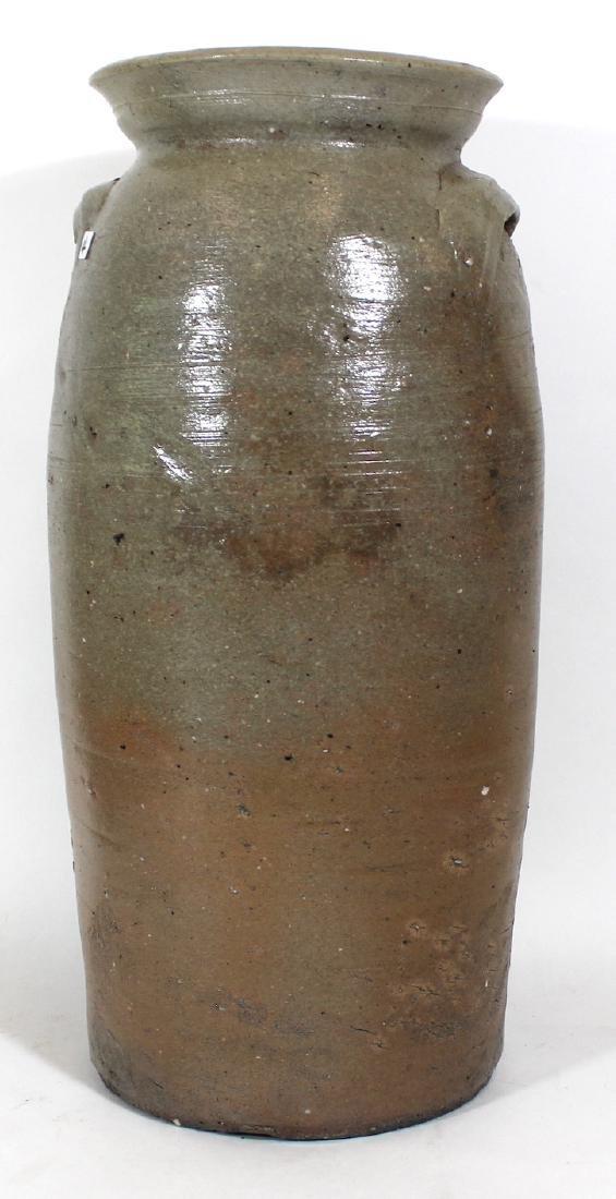 Stoneware Crock. 2 Gallon. Blue Decoration - 2