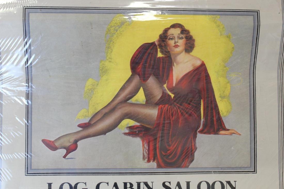 Log Cabin Saloon Liquors & Tobaccos 1938 - 2