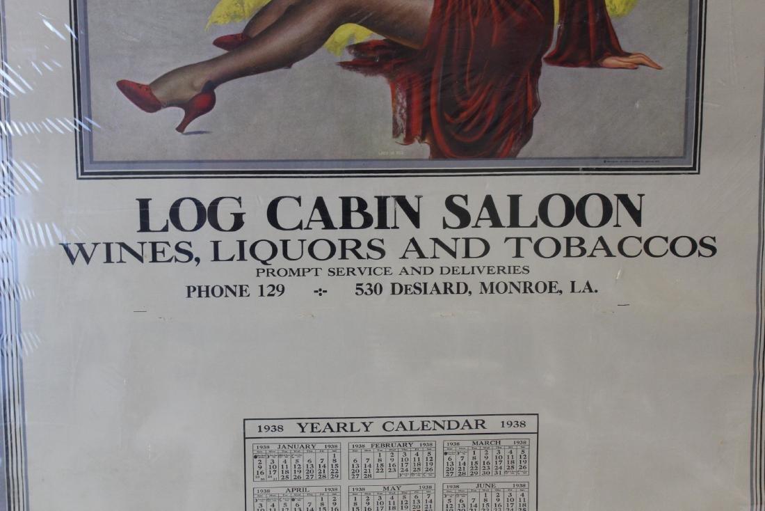Log Cabin Saloon Liquors & Tobaccos 1938 - 3