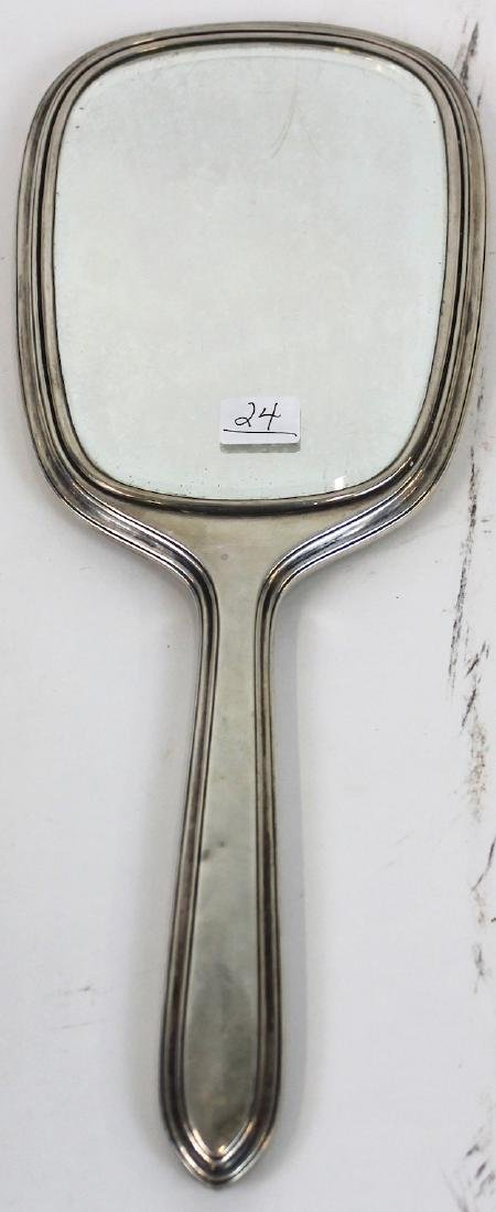 Gorham Sterling Silver HandMirror - 2