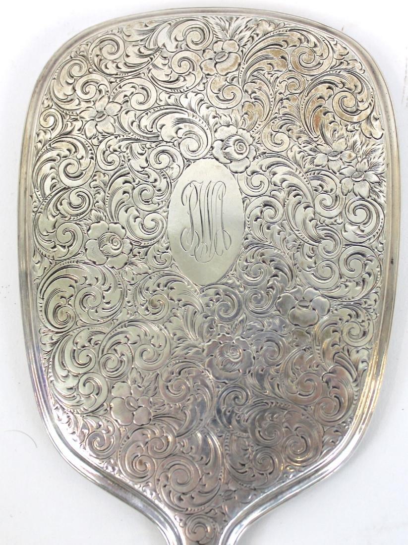 Gorham Sterling Silver HandMirror - 3