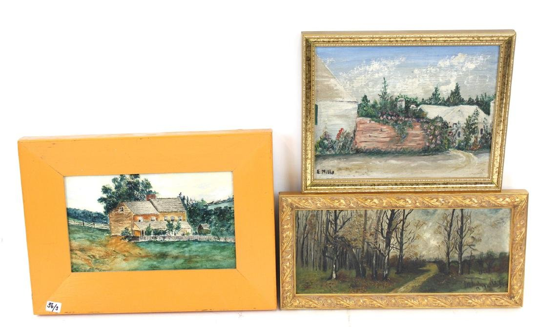 Vintage Oil Paintings (3)