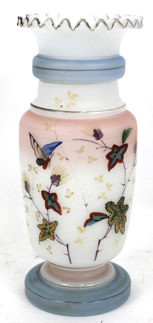 Bristol Vases. Hand Painted (2) - 2